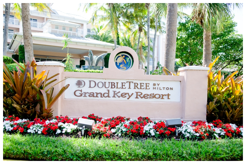 Doubletree Grand Key Resort Wedding